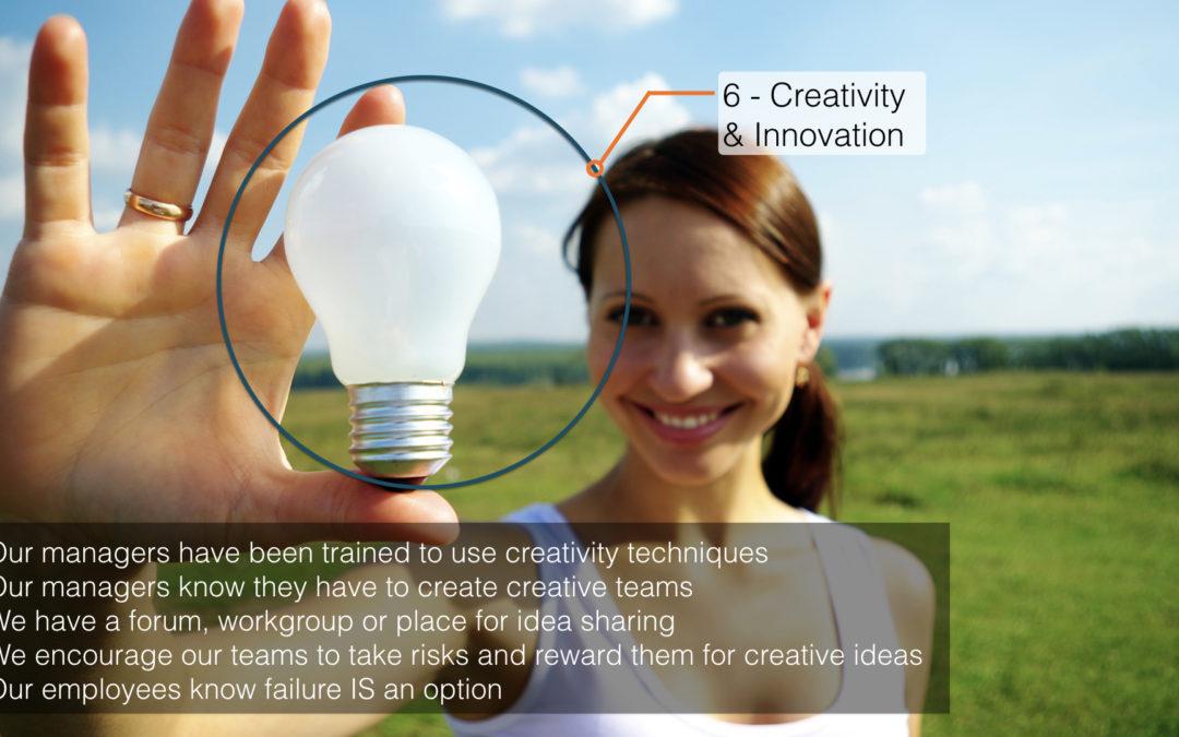 Management innovation practices – A world tour – Part 6/6: Creativity